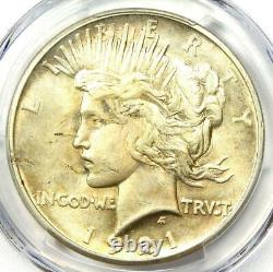 1921 Peace Silver Dollar $1 Certified PCGS AU Details Rare Key Date Coin