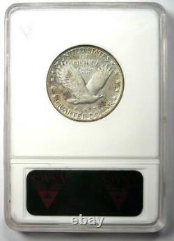 1923-S Standing Liberty Quarter 25C Coin Certified ANACS XF45 Rare Date