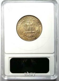 1932-D Washington Quarter 25C Certified ANACS MS60 Details (UNC) Rare Coin