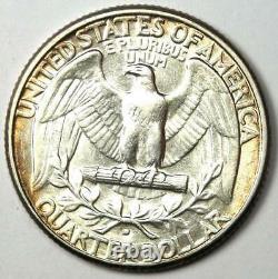 1932-D Washington Quarter 25C Choice AU / UNC MS Details Rare Key Date Coin