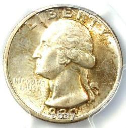 1932-D Washington Quarter 25C Coin Certified PCGS MS63 (BU UNC) Rare Date