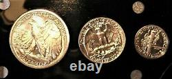 1936/1937 Silver Combination Proof Set rare on ebay and elsewhere 5 coin set