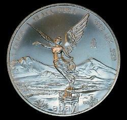 1999 MEXICO LIBERTAD 1 oz. 999 Fine UNC SILVER Onza Rare Key COIN 95,000 MINTED