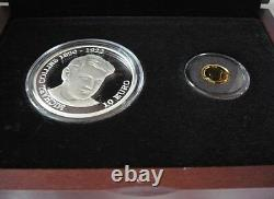 2012 Ireland Michael Collins Double Gold and Silver Two Coin Proof set (Rare)