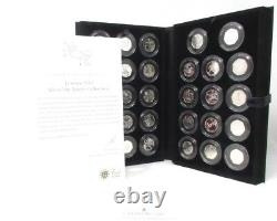 2012 Olympic Silver Proof 50p Sports Collection 29 coins COA Rare Royal Mint CC