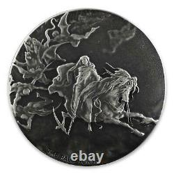 2015 2 oz Silver Coin Biblical Series Pale Horse rare limited