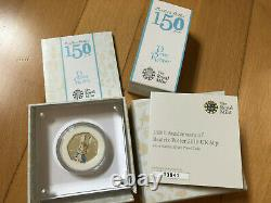 2016 Peter Rabbit 50p Royal Mint Silver Proof Coin with COA RARE