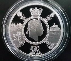 2020 UK Royal Mint Silver Proof Piedfort Coin Set. Extremely Rare 1 of Only 300