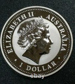 Australia Perth 1 Oz Lunar Year of the Dragon. 999 Fine Silver Zodiac Rare Coin$