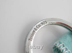 Auth Tiffany & Co RARE Silver Coin Edge Cigar Tobacco Packer Punch Keychain