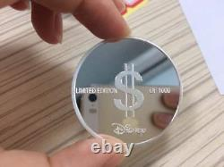 Extremely Rare! Disney Scrooge McDuck One Duck Dollar LE of 1000 Silver Coin