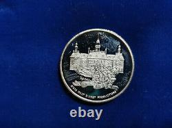 Jm Johnson Matthey Epcot Center Walt Disney World 1982 Rare 999 Silver Coin