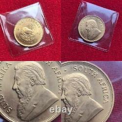Kruggerand Rare 1980 South African 1oz Solid 22ct Yellow Gold Coin