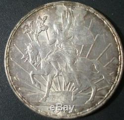 Mexico RARE 1912 $1 peso silver horse beautiful coin please see the coin