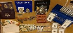 Mixed Estate Lot Old Rare US Coins, Silver, PCGS Case, and More! (3 of 3)