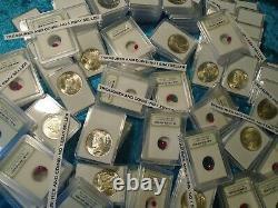 Peace Dollars-certified Rubies-estate Coins-gems-sale-rare Lot