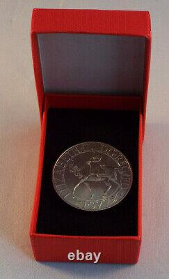 Queen Elizabeth II 1977 Commemorative Silver Jubilee Coin Very Rare