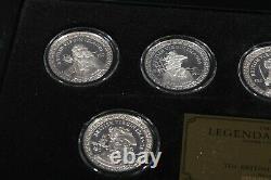 RARE Legendary Pirates Sterling Silver 12 Coins, Franklin Mint, Queen Elizabeth