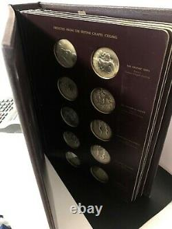 RARE! The Genius of Michelangelo Franklin Mint Sterling Silver COIN MEDALLIONS