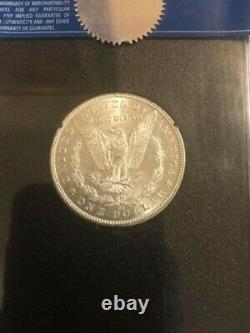 Rare 1890 CC S$1 GSA HOARD MS62 Morgan UNCIRCULATED Silver Dollar. Nice Coin
