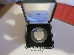 Rare 1992/1993 PIEDFORT UK Dual Date Silver Proof 50p Fifty Pence Coin EEC