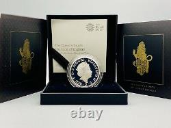 Rare 2017 Rm Queens Beasts The Lion Of England Silver Proof 1oz £2 Coin Box/coa