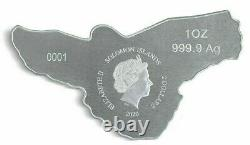 Rare 2020 Pamp Suisse Red Tailed Hawk Coin 9999 Silver -capsule- $108.88