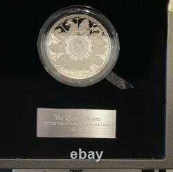 Royal Mint 2021 10oz Queens Beast Silver Proof completer Coin. Rare 125 Mintage