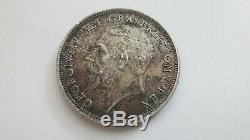 Very Rare 1934 George V Silver Wreath Crown coin